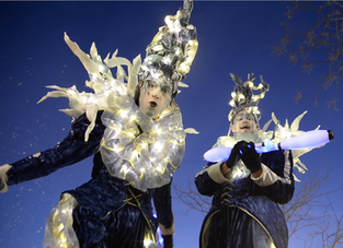 Les Lucioles arrivent à Thiers pour illuminer le Marché de Noel