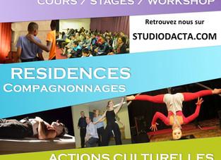 Ouverture des cours au StudiO d'Acta