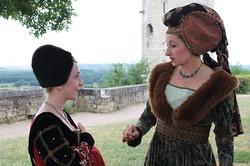 Déambulation Médiévale Marie d'Anjou et sa cour - Chinon