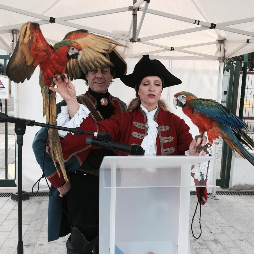 Inauguration travaux Pirates
