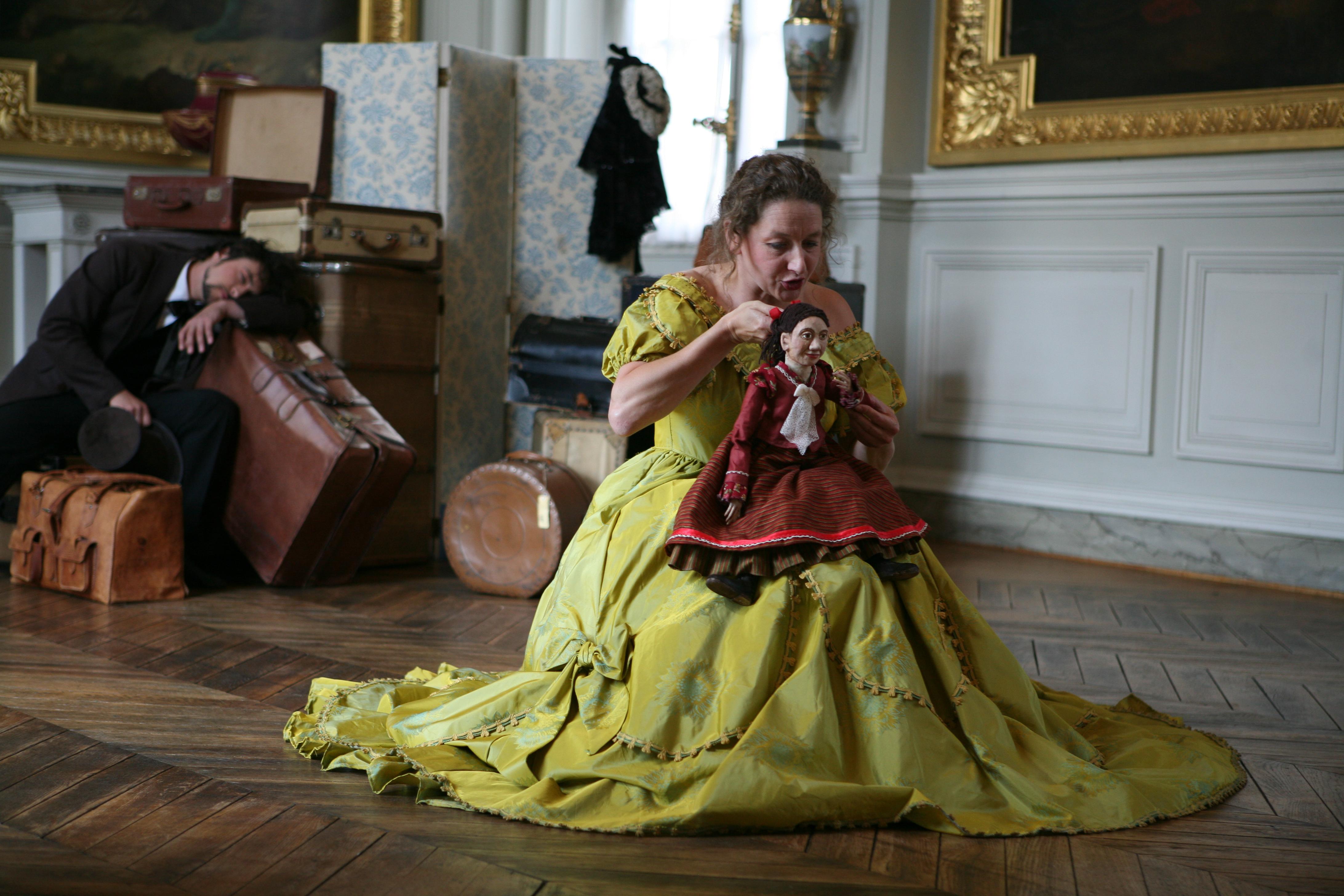 Eugénie la Marionnette conteuse