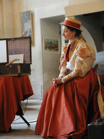 visite théâtralisée Château de compiègne