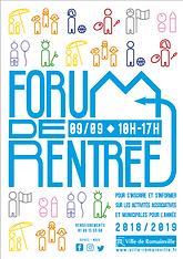 forum de rentrée 2018