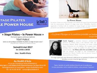 Nouveau Stage Pilates au StudiO à ne surtout pas manquer !