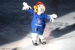 Mascotte Oscar Hockey