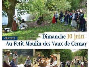 De retour ce weekend au Petit Moulin de Cernay pour le Pique Nique des Peintres Paysagistes