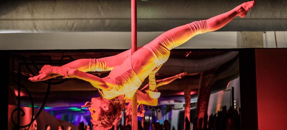numéro de mat pool acrobatique