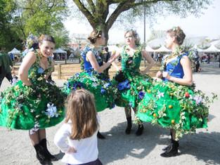 Retrouvez les Femmes Fleurs à l'Hay les Roses ce dimanche pour Rendez vous au Jardin