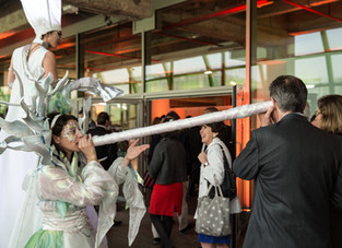 Acta Fabula, directeur artistique de la soirée d'Axa à la Cité de la Mode et du Design