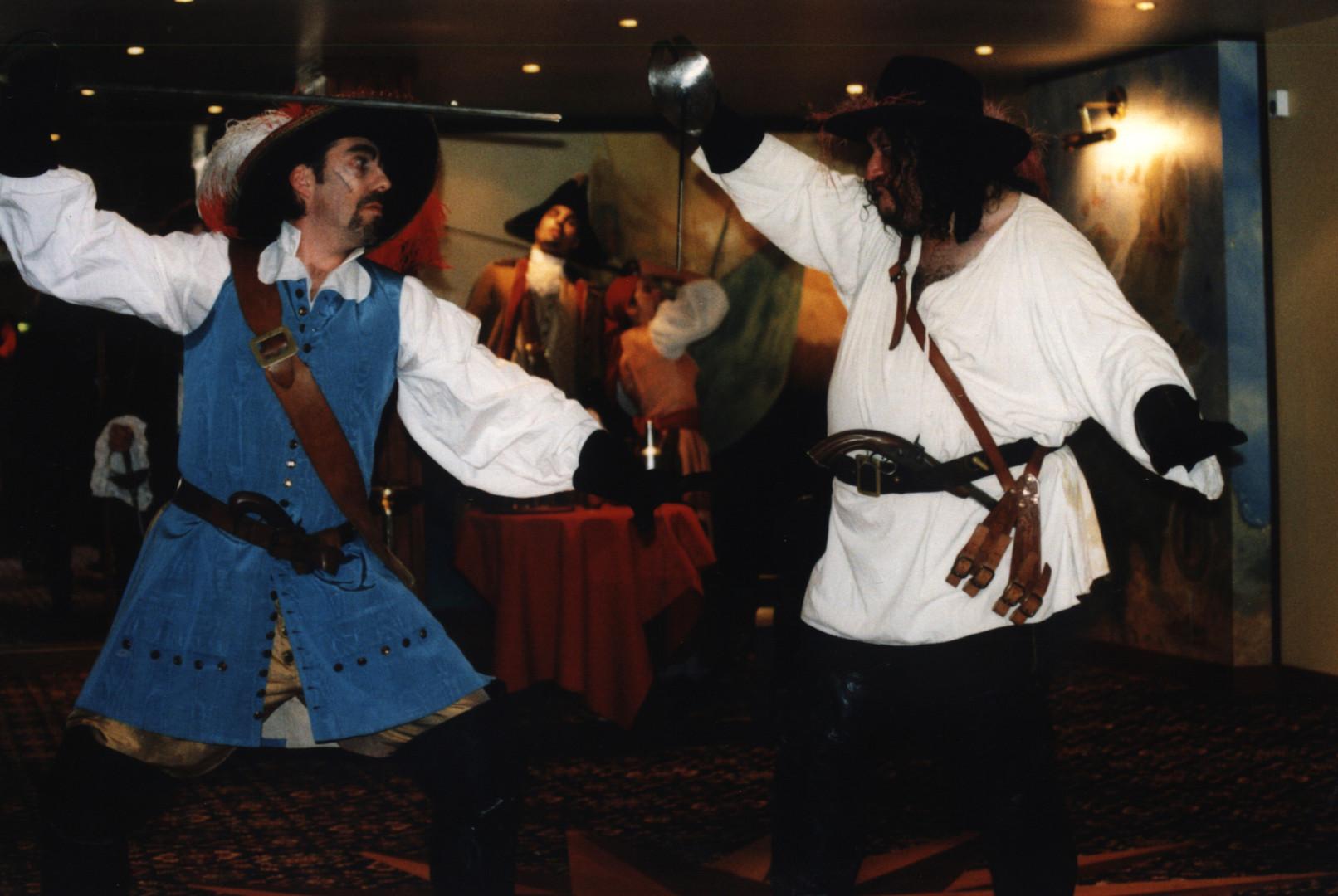 combat de pirates