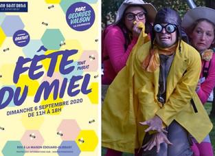 Le safari Abeille à la fête du miel le 6 septembre 2020 au Parc Georges Valbon de la Courneuve