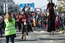 Monocycle et jonglage de rue
