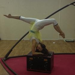 Résidence de spectacle cirque