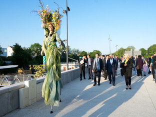 Inauguration des Berges de Seine à Meudon : Acta Fabula met en valeur cet événement par ses animatio