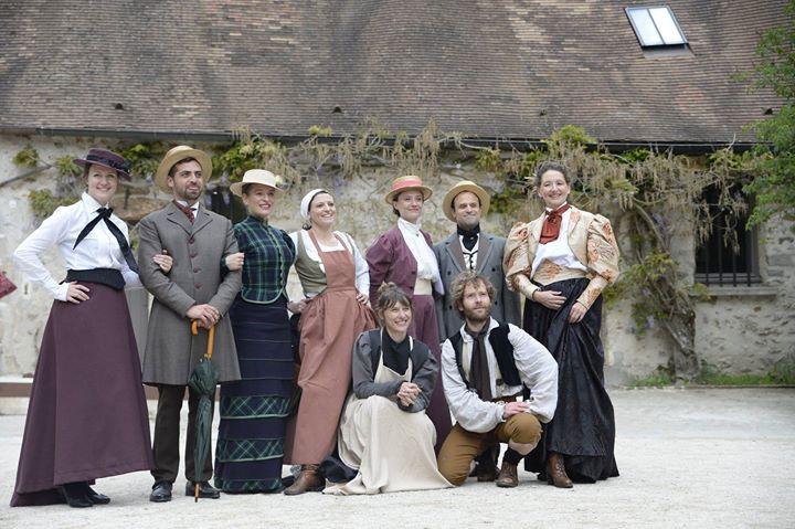 Mise en scène et écriture découverte de l'histoire du petit moulin des Vaux de Cernay Peintres paysagistes