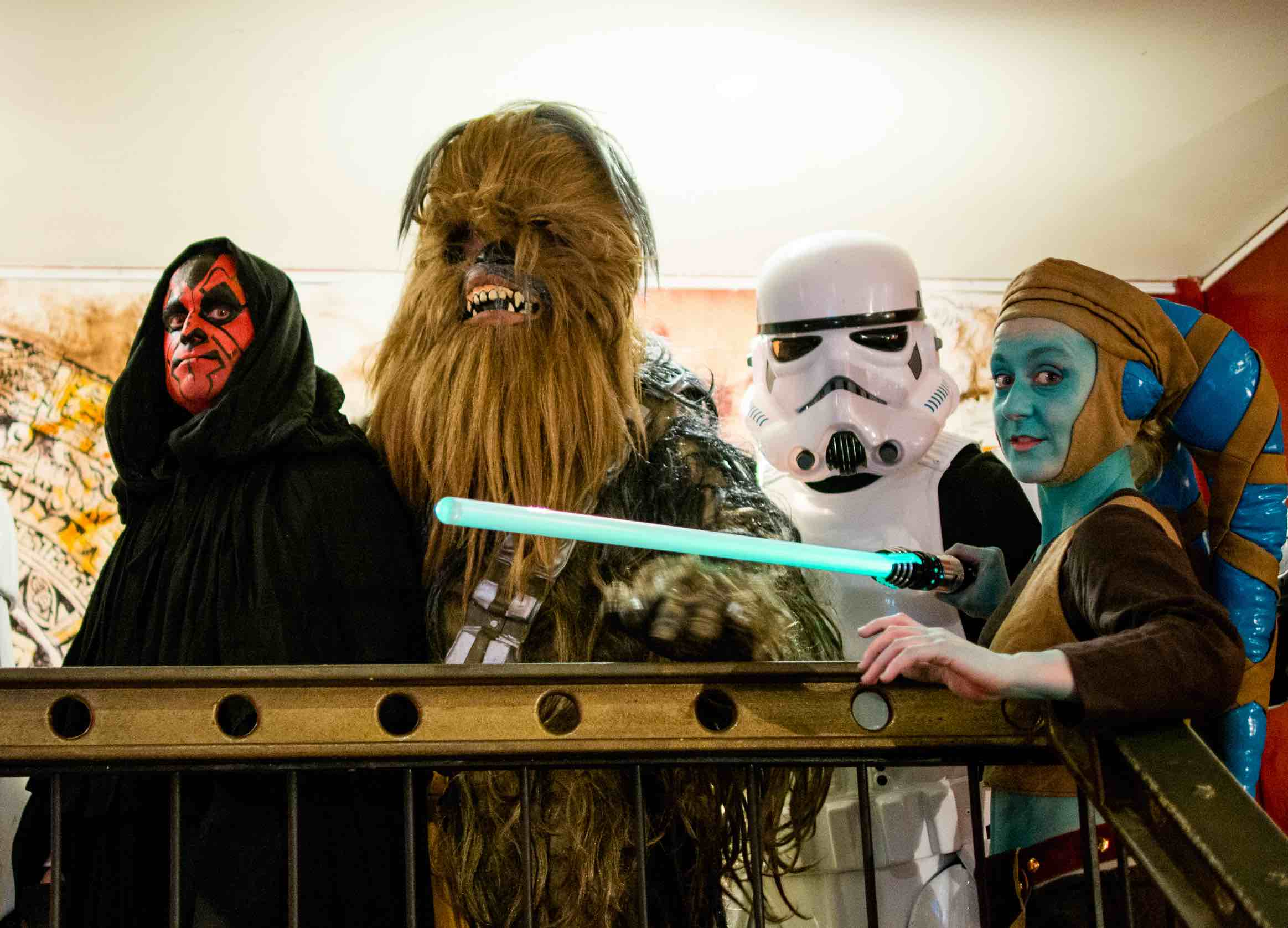equipe personnages star wars