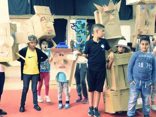 """Retour sur les ateliers """"créations de masques"""" du 28 juin 2017"""