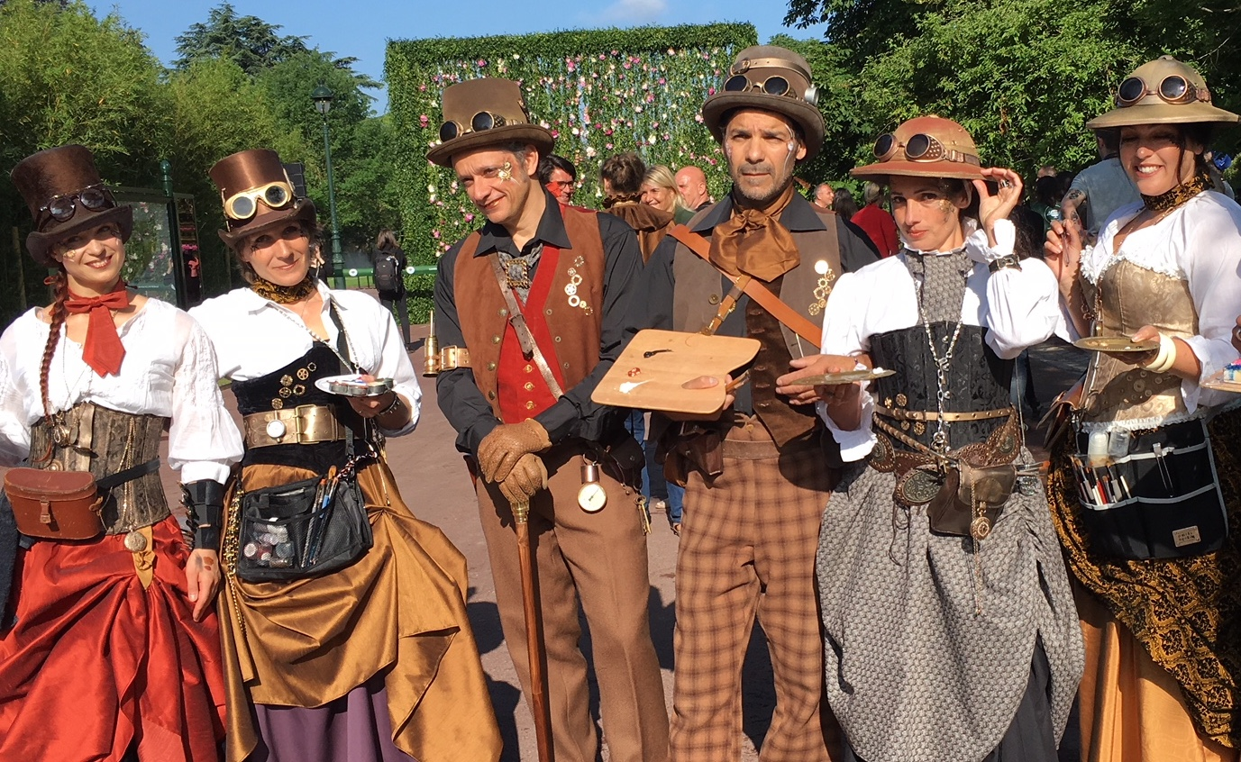 groupe steampunk
