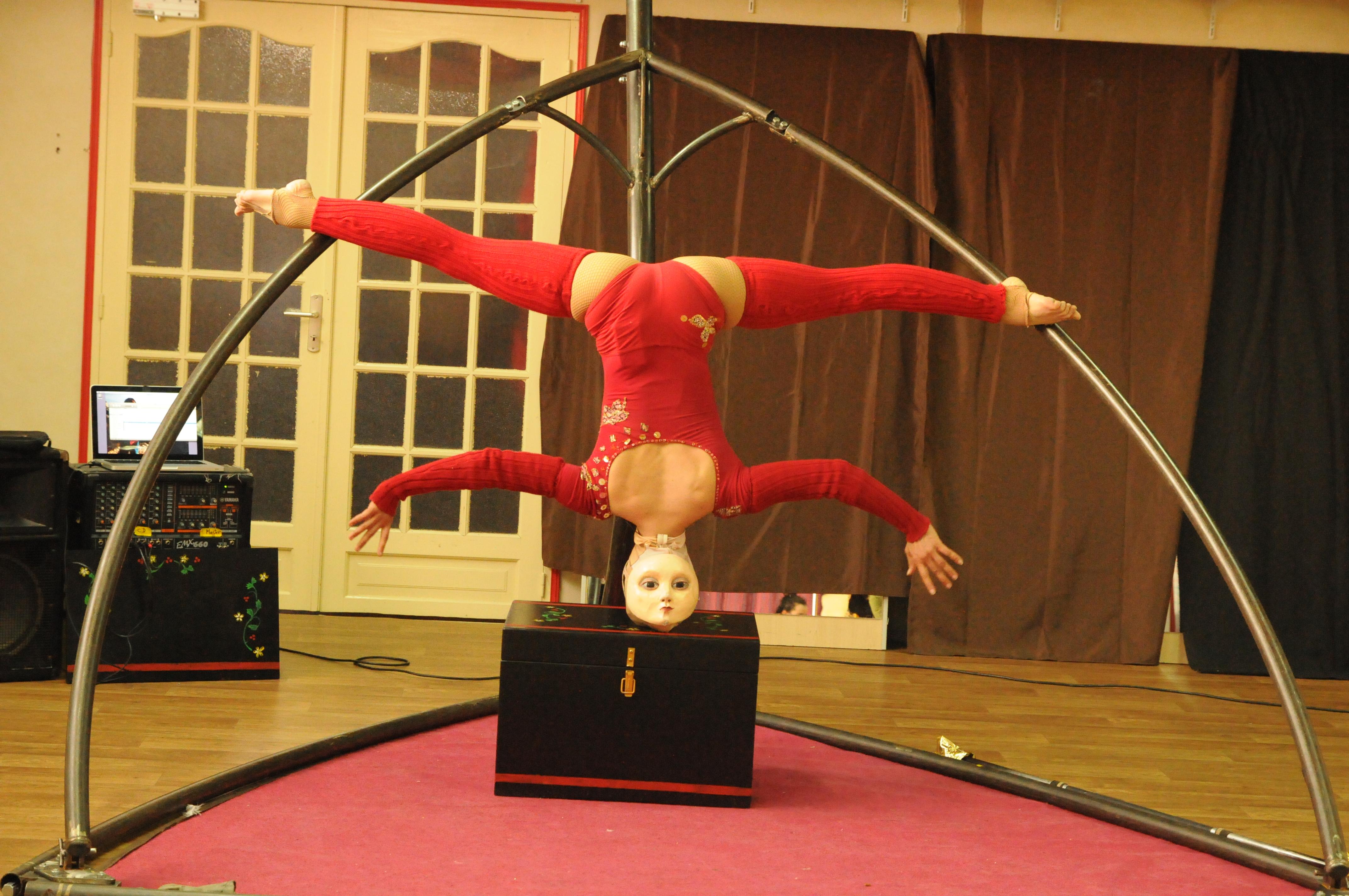 Répétition cirque