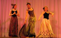 Démonstration danses 1900