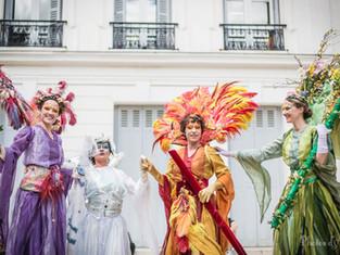 Inauguration des Allées Jean Jaurès à Montrouge ce weekend : les 4 saisons seront de la party !