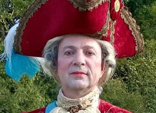 C'est Versailles au Marché de Noel de Méry sur Oise