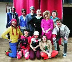 stage weekend clown