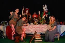 Table d'Alice au Pays des Merveilles
