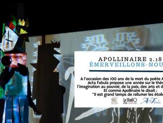 Apollinaire 2.18 / Émerveillons-nous!