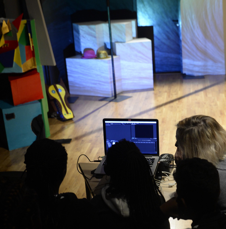 parade 2017 - atelier mapping vidéo