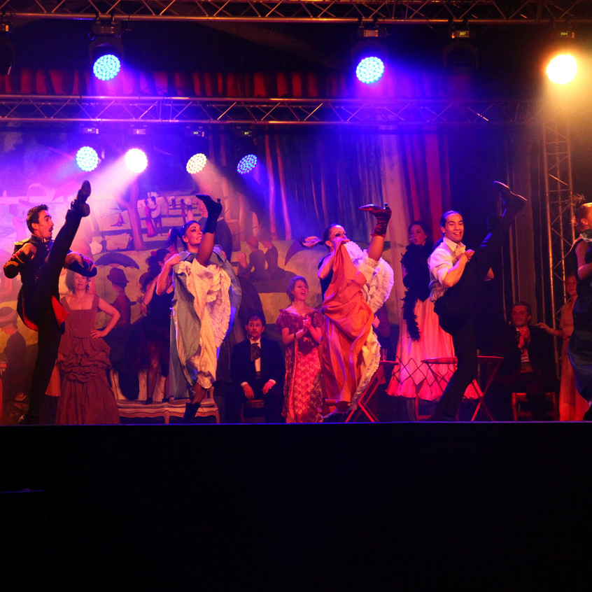 Spectacle cancan PB
