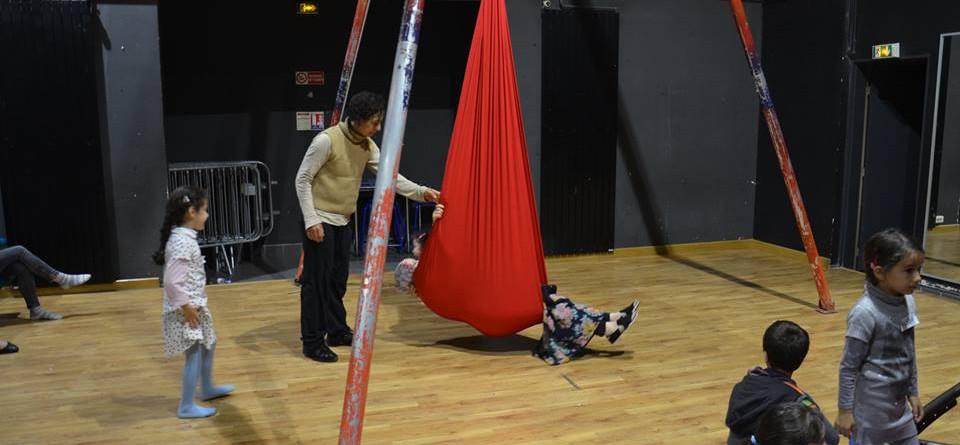 atelier cirque en famille Territoire et médiation culturelle