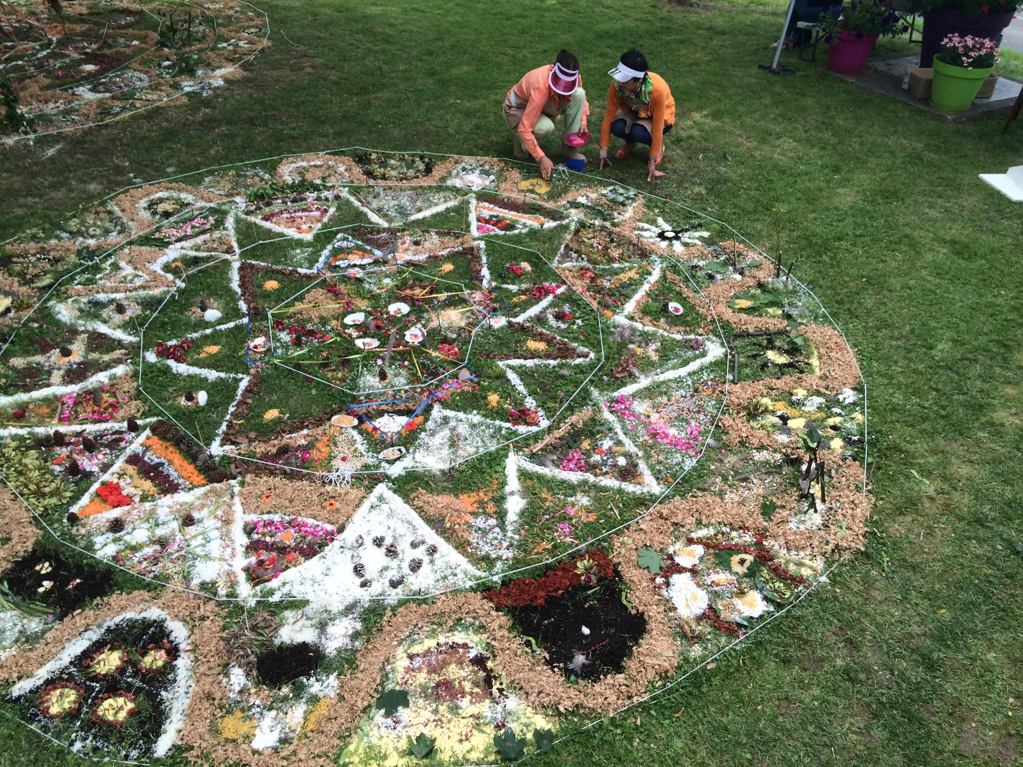 Land Art Mandala
