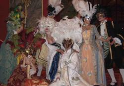 Marquis et marquise masqués