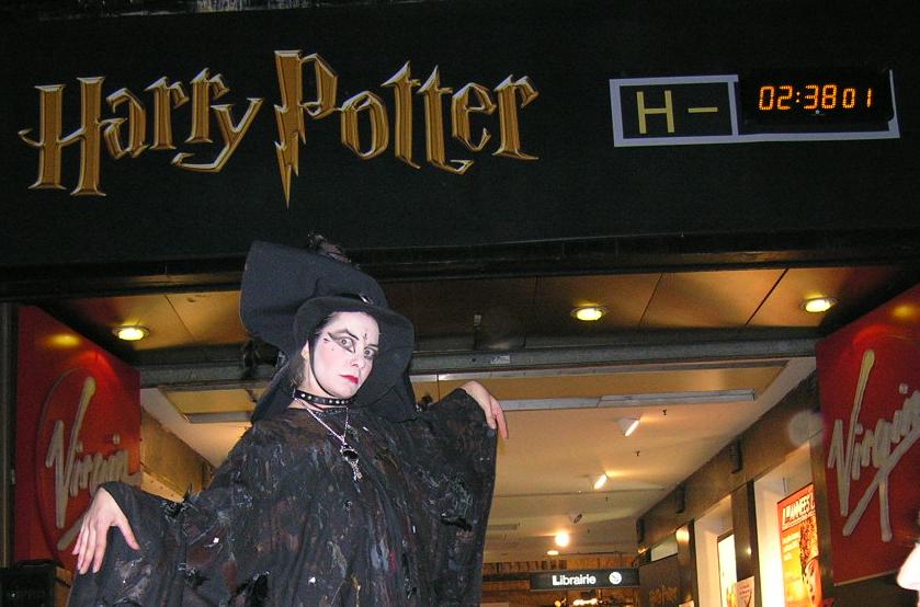 Harry potter lancement livre