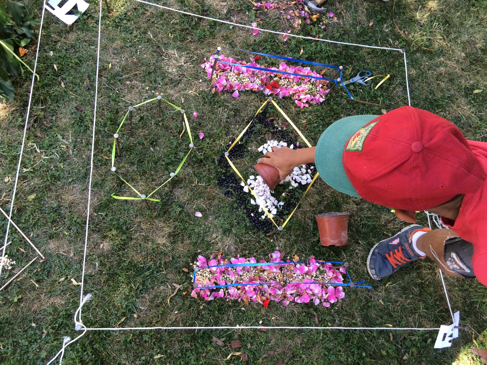 Atelier participatif Land Art