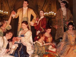 Acta Fabula anime un bal étudiant sur le thème Venise