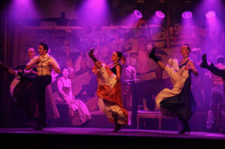 Spectacle visuel French Cancan
