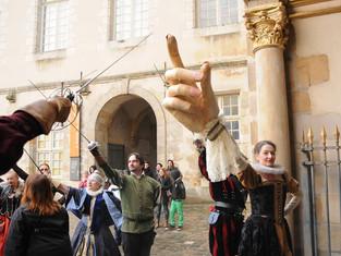 Acta Fabula fait son carnaval à Fontainebleau