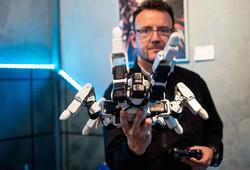 manipulation de robot inventeur