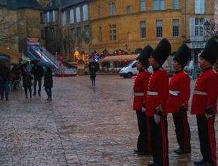 "Animations ""So British"" pour le Noel de Sarlat"