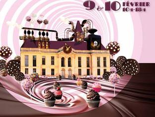 Charlie au Salon du Chocolat de Méry sur Oise le 10 février!