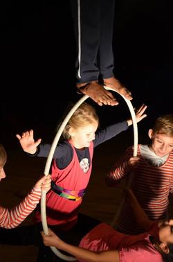 atelier cirque aérien pour les petites et les grands