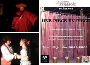 """Collaboration sur """"l'Illusion Comique"""" de Corneille"""