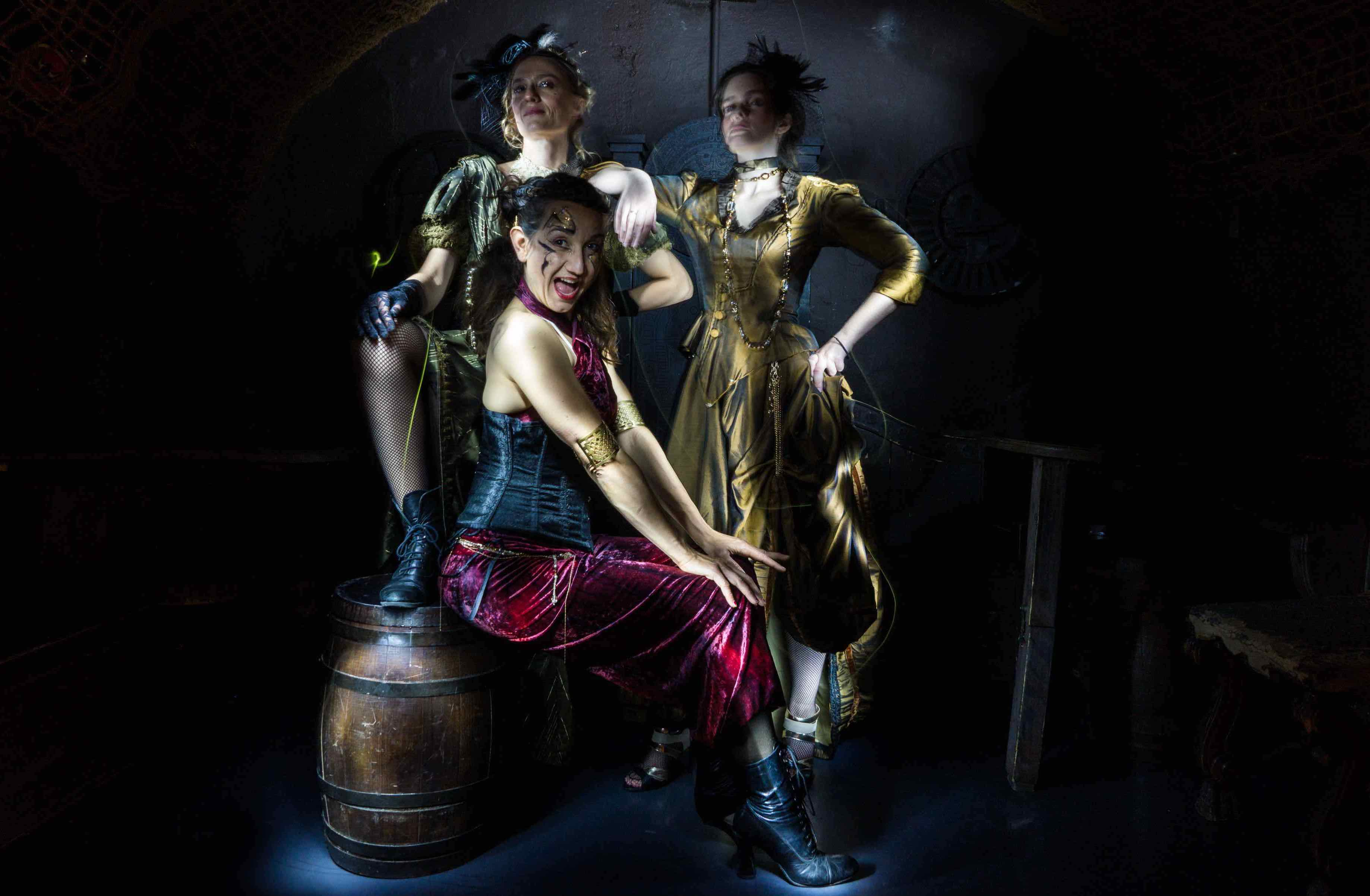 steampunk nos artistes dans l'atelier light painting
