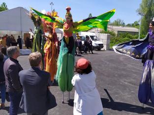 Retour sur événement : inauguration d'un quai de transfert à Rouxmesnil Bouteilles