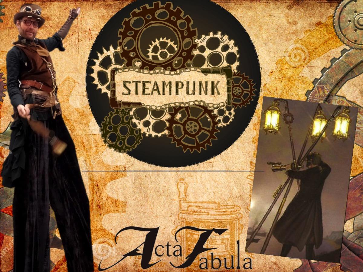 Déambulation Steampunk