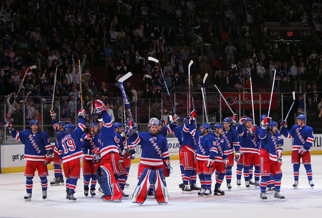 New York Rangers - Value Movers
