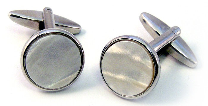 Chrome Cufflinks