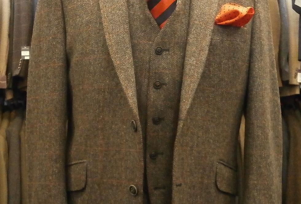 Scott Charcoal Herringbone Jacket